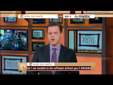 Download Youtube: Willie Geist's last Way Too Early on MSNBC