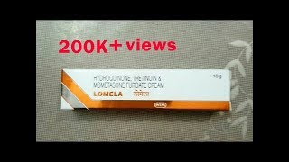 Lomela cream Full Review In Hindi - How to get fairness first without any sideeffect