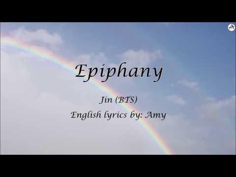 Epiphany - English KARAOKE (Piano Instrumental) - Jin (BTS)