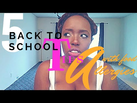 5 Back to School Tips with Food Allergies