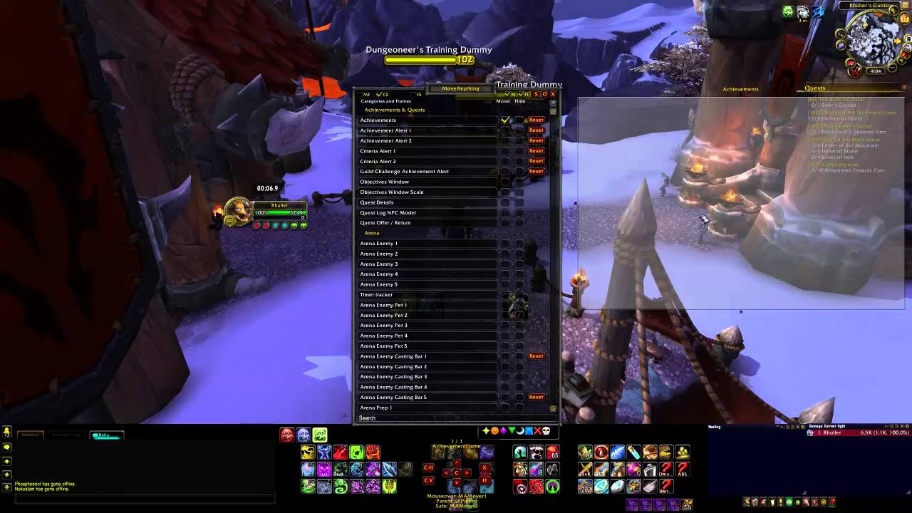 Addon Tutorial | Help Your UI in World of Warcraft | [ABS][Bartender][Move  Anything][OmniCC]