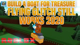 FLY GLITCH IN ROBLOX BUILD A BOAT FOR TREASURE (STILL WORKS 2019)