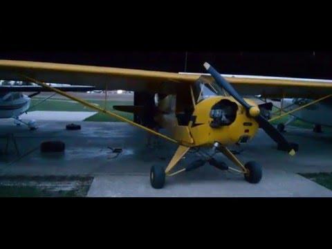 Flying over Woodstock Ontario - Feat. James
