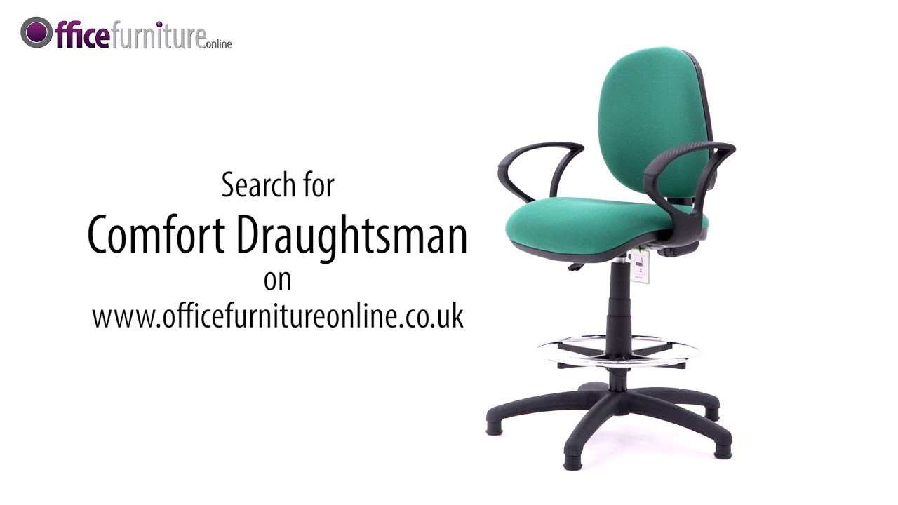 comfort draughtsman chair assembly guide youtube
