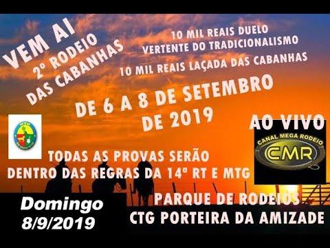 2º Rodeio das Cabanhas - CTG Porteira da Amizade - Lagoão-RS - domingo