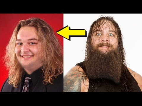 10 Most Shocking Bearded WWE Wrestlers Without Beards or Facial Hair