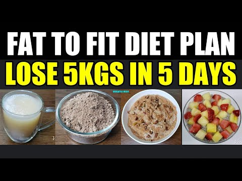FSA Fat To Fit Diet Plan | Lose 5 Kgs In 5 Days | Fat To Fit thumbnail