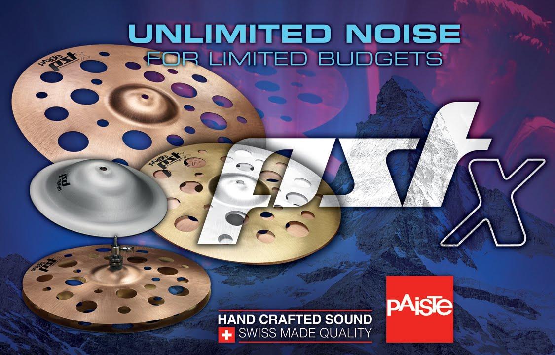 """Paiste 14/"""" PSTX Swiss Thin Crash Cymbal PSTXSWTCR14"""
