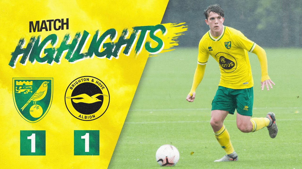 HIGHLIGHTS | Norwich City U18s 1-1 Brighton U18s