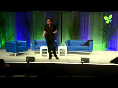 From Ego to Eco: Futurist and Keynote Speaker Gerd Leonhard at EcoSummit 2012