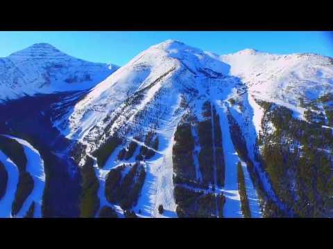 SHOCKING Castle Mountain Resort Alberta Drone Footage !!!!