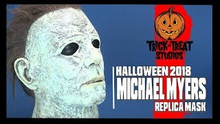Spooky Spot 2018   Trick Or Treat Studios Halloween 2018 Michael Myers Replica Mask
