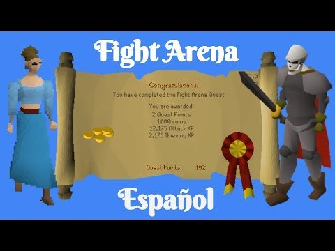 [OSRS] Fight Arena Quest (Español)
