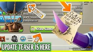 CLAN GAMES ARE COMING!! OFFICIALY LAUNCHED BY **SUPERCELL** FIRST TEASER
