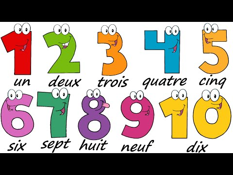 French Lesson 17  NUMBERS 110  Learn French  The French Minute