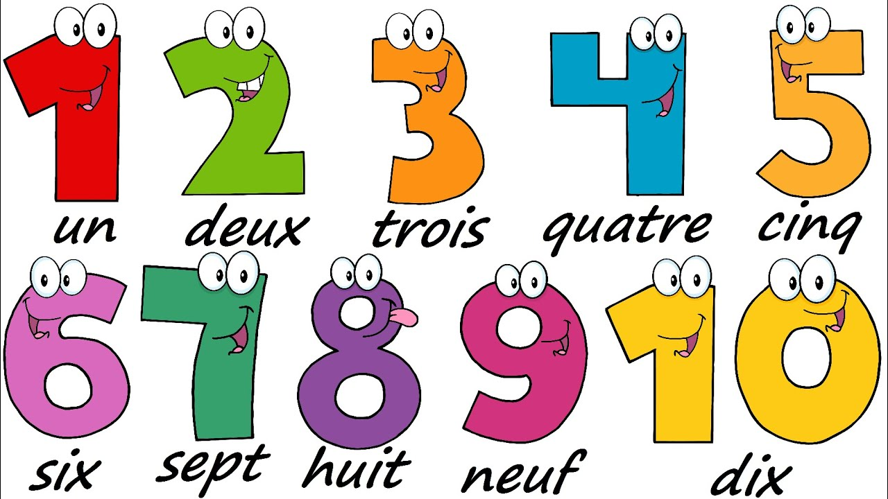Printables Number Images 1-10 french lesson 17 numbers 1 10 learn the minute youtube