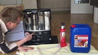 Notfallvorsorge in der Stadt - Petroleumofen als Notheizung bei Stromausfall