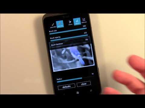 Windows Phone App Review: Fantasia Painter