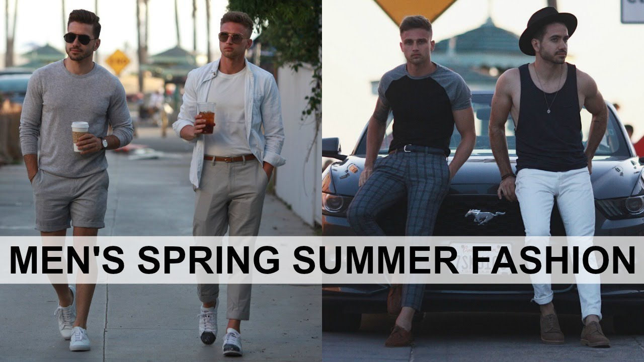 SRING SUMMER LOOK BOOK | MENS FASHION INSPIRATION OUTFITS