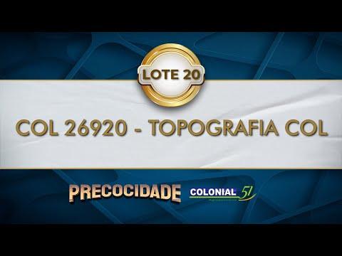LOTE 20   COL 26920