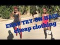EBAY TRY ON HAUL   SLAY IN AFFORDABLE CLOTHING