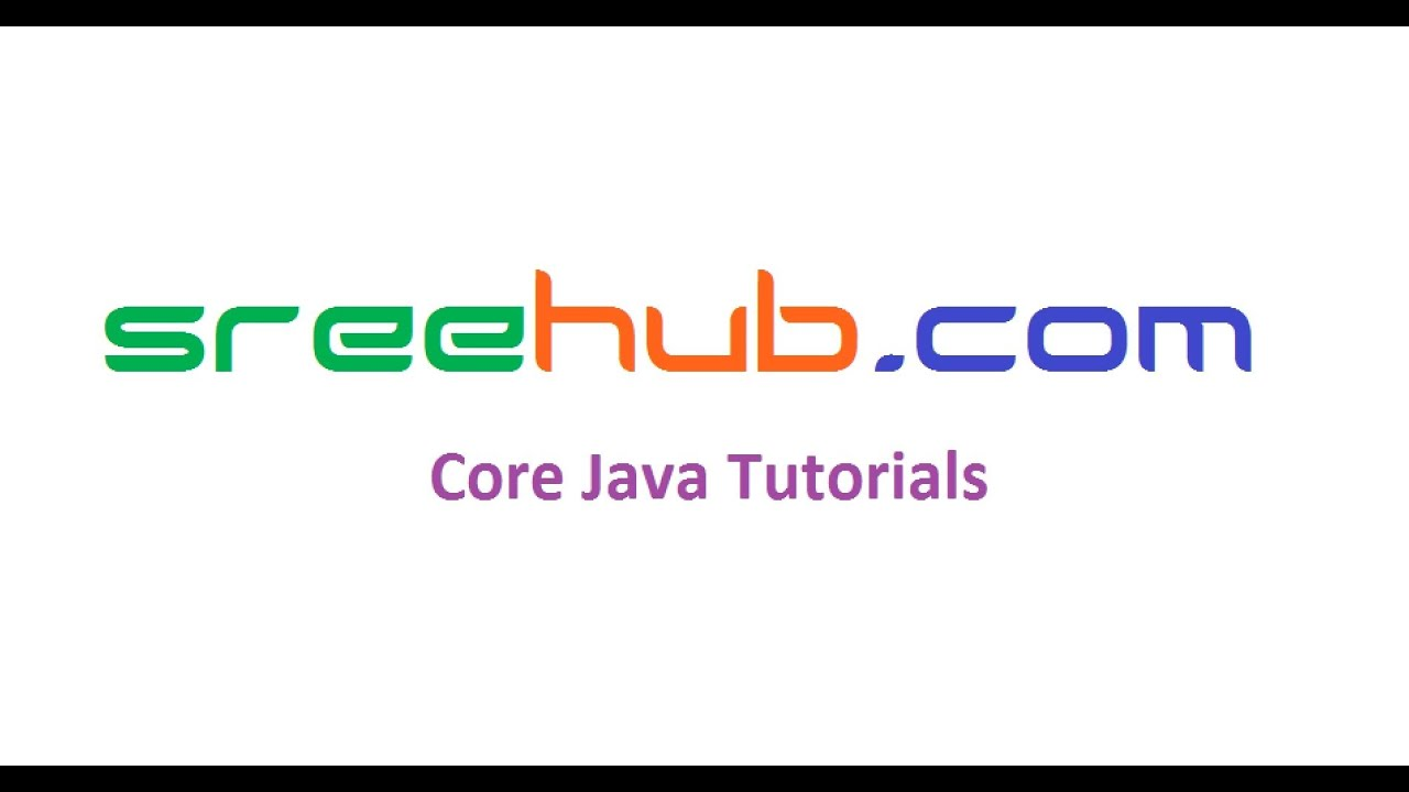 Core Java Tutorials Step by Step Learning Class Videos