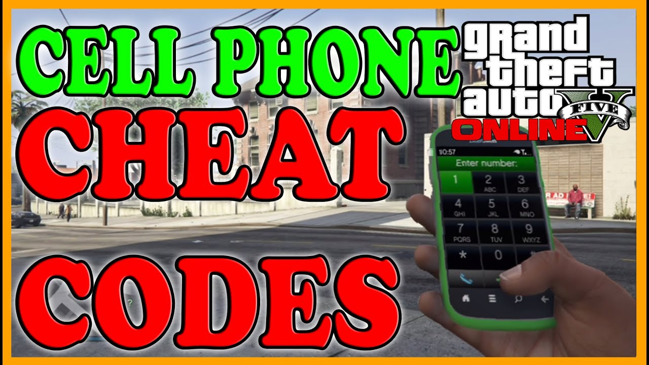 GTA 5 Tips and Tricks - ALL Known Cell Phone Cheat Codes (GTA 5 Next Gen  Cheats)