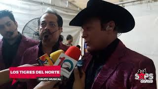 Los Tigres del Norte en La Feria de Comalcalco, Tabasco 2018.