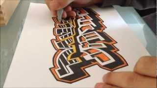 How to draw Graffiti - My Name Daniel(DK's Graffiti Shop: http://www.dkdrawing.bigcartel.com Facebook: http://facebook.com/DKDrawing Twitter: https://twitter.com/DKDrawing Instagram: ..., 2012-10-03T19:24:22.000Z)