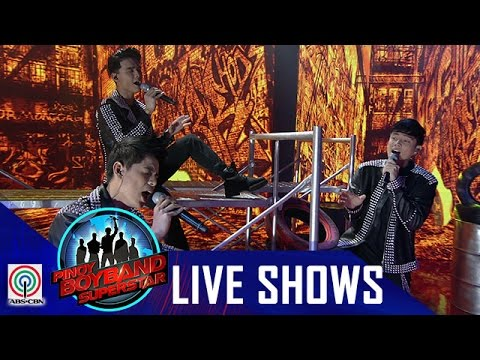 "Pinoy Boyband Superstar Live Shows: Ford, Niel & Russell - ""I Swear"""