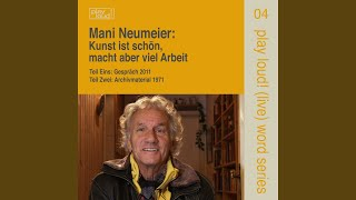 Gespräch mit Mani Neumeier (Leben und Biographie)