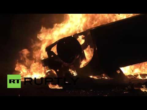 France: Buildings and cars set ablaze in Paris suburb following police custody death