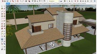SketchUp 2015 Aula 33: Download e instalação do plugin Instant Roof (CURSO BÁSICO GRATUITO)