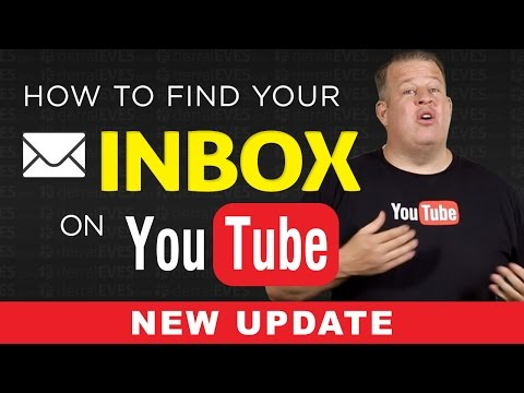 How To Find Your YouTube Inbox - YouTube Messages