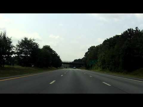 Adirondack Northway (Interstate 87 Exits 20 to 18) southbound