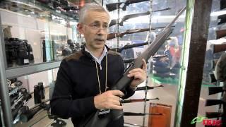 'Охота и Рыбалка 2013'. Ежегодная осеняя выставка . Стенд компании 'ИБИС'. Охота и оружие.