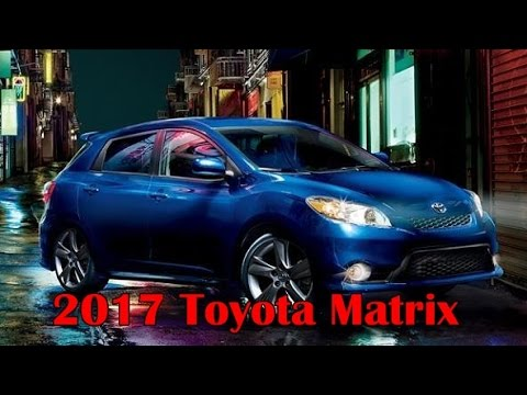 2017 Toyota Matrix Picture Gallery