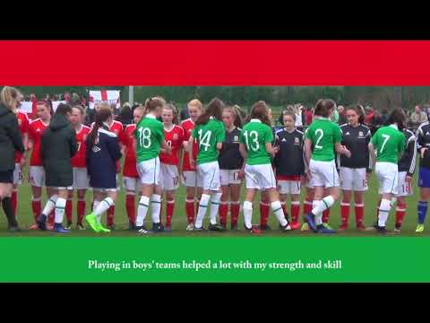 FAW Trust Video - Wales U15 star Lucy Attwood