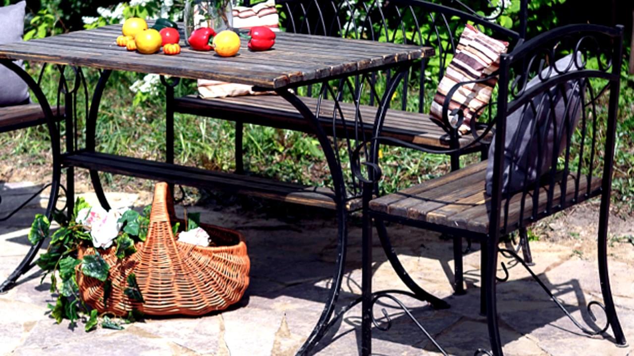 Мебель для сада деревянные столы стулья из массива и лавки для .
