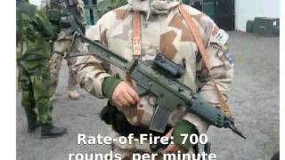 Pindad SS1 Assault Rifle (1991)  Full Specs Details