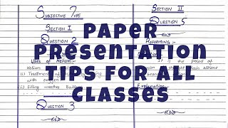 Paper presentation tips  for students