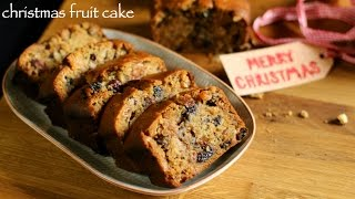 christmas cake recipe | fruit cake recipe | plum cake recipe