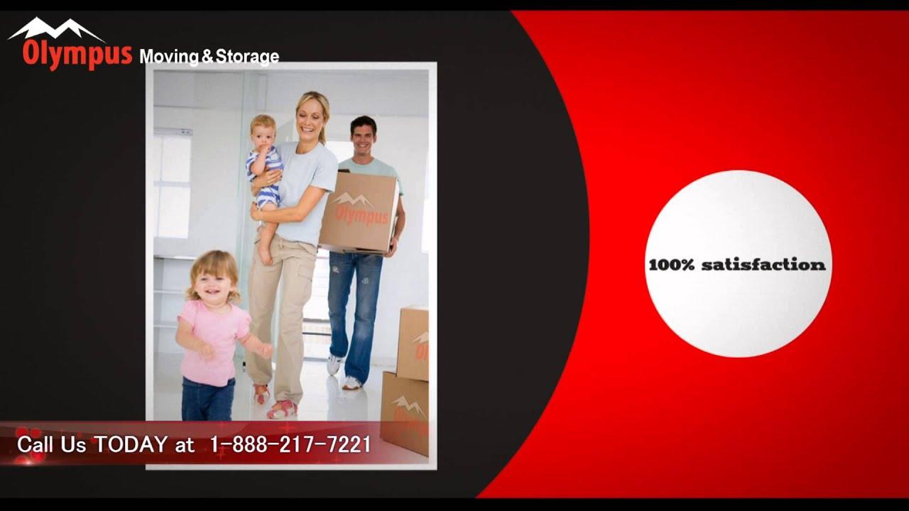 Olympus Moving U0026 Storage | 100% Customer Satisfaction