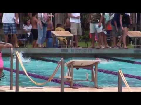 BROOKE MING - 10-18-2014 - Kamehameha Swim Club - 50 Meter Butterfly