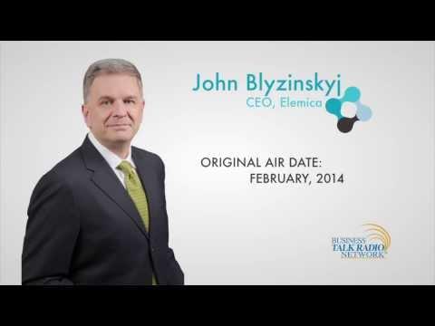John Blyzinskyj, CEO of Elemica, featured on Business Talk Radio Network