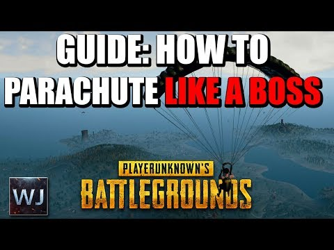 GUIDE: How to parachute LIKE A BOSS (up to 3050 M distance) - PLAYERUNKNOWN'S BATTLEGROUNDS (PUBG)