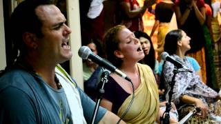 Gaura Vani in Brisbane Australia Krishna Bhajan Nikon D3100 HD Video