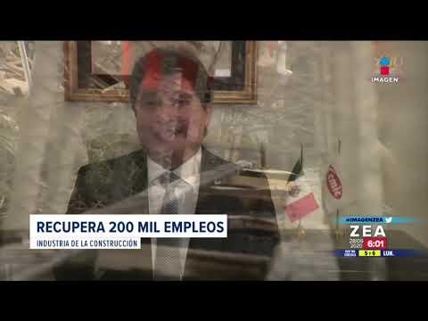 Industria de la construcción recupera 200 mil empleos tras la pandemia | Noticias con Francisco Zea