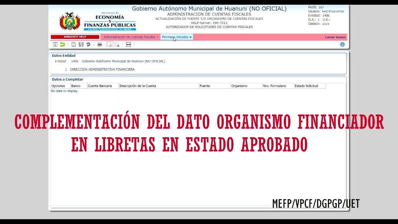 Ministerio De Economía Y Finanzas Públicas De Bolivia