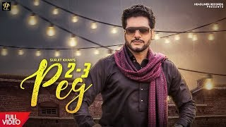 2 3 Peg Surjit Khan Free MP3 Song Download 320 Kbps